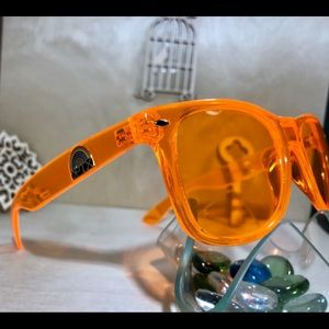 5a62c1eb7155 Rainbow Optx Accessories - Orange colored Sunglasses